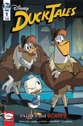 DuckTales: Faires and Scares #1 (Ghillone & Stella Cover)