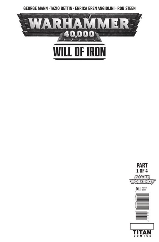 Warhammer 40,000: Will of Iron #1 (Blank Sketch Cover)