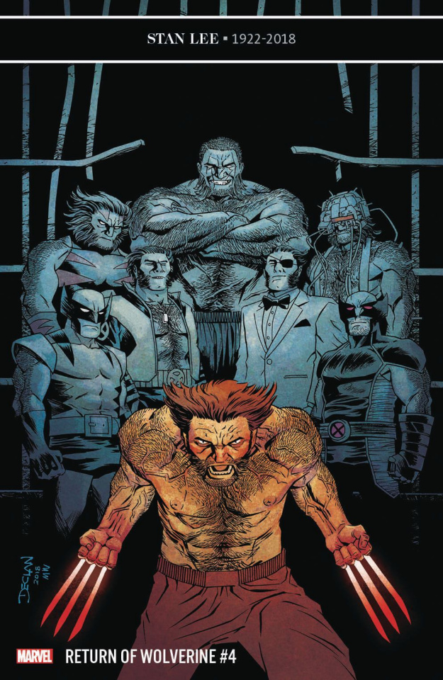 Return of Wolverine #4 (Shalvey Cover)