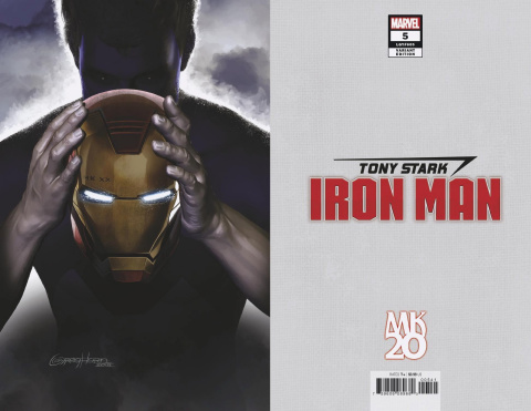 Tony Stark: Iron Man #5 (Horn MKXX Virgin Cover)