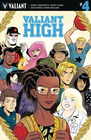 Valiant High #4 (10 Copy Charm Cover)