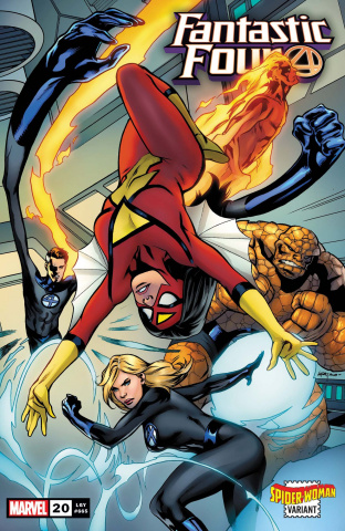 Fantastic Four #20 (Lupacchino Spider-Woman Cover)