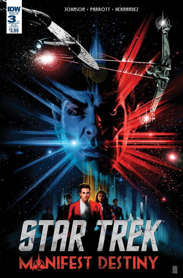 Star Trek: Manifest Destiny #3 (Subscription Cover)