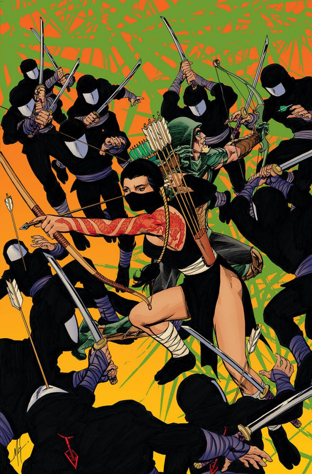 Green Arrow #34 (Variant Cover)