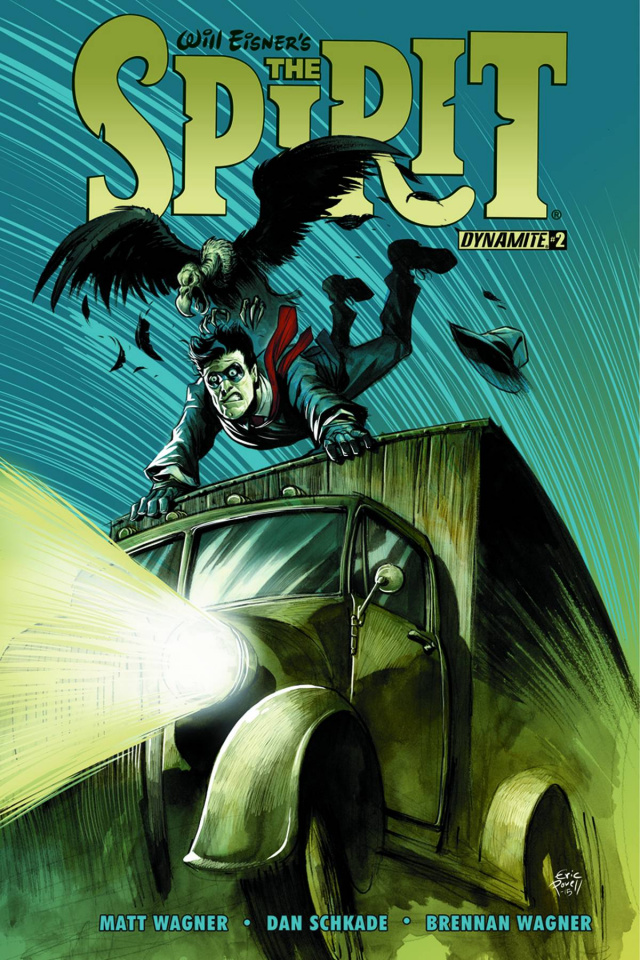 The Spirit #2 (Powell Cover)