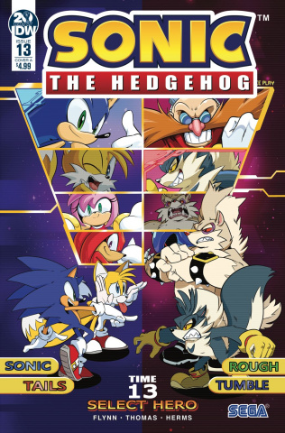 Sonic the Hedgehog #13 (Thomas Cover)