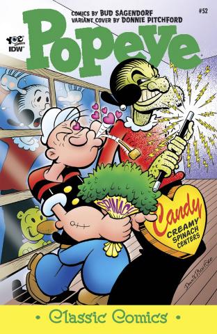 Popeye Classics #53 (10 Copy Cover)