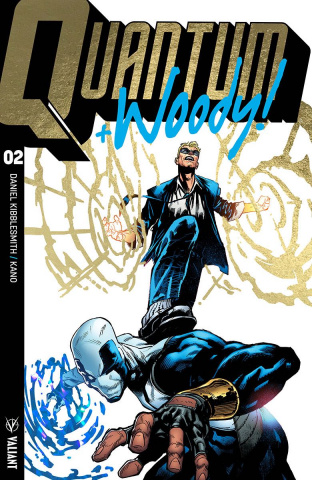 Quantum & Woody #2 (Ultra Foil Shaw Cover)