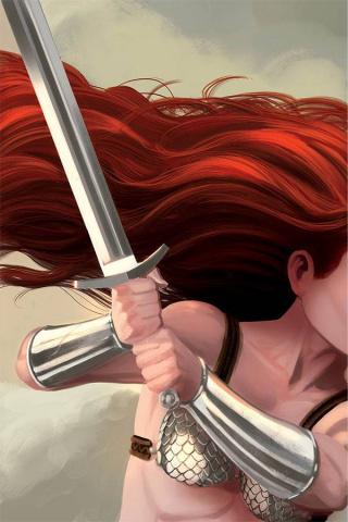 Red Sonja #18 (40 Copy Bob Q Virgin Cover)