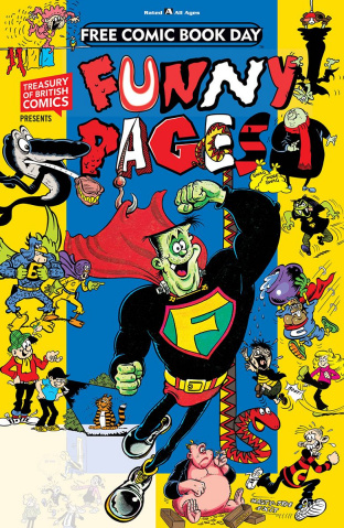 A Treasury Of British Comics Presents Funny Pages FCBD 2019