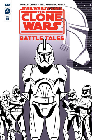 Star Wars Adventures: The Clone Wars #4 (10 Copy Charm Cover)