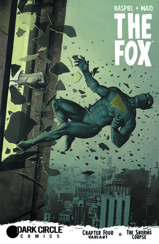The Fox #4 (Shaw Cover)
