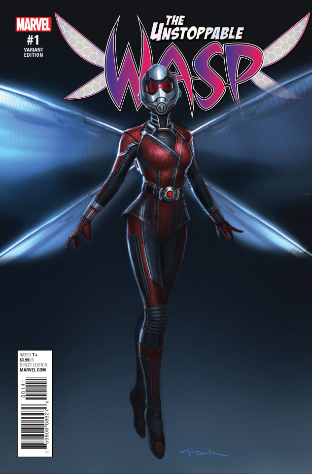The Unstoppable Wasp #1 (Park Movie Cover)