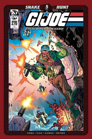 G.I. Joe: A Real American Hero #270 (10 Copy Royle Cover)