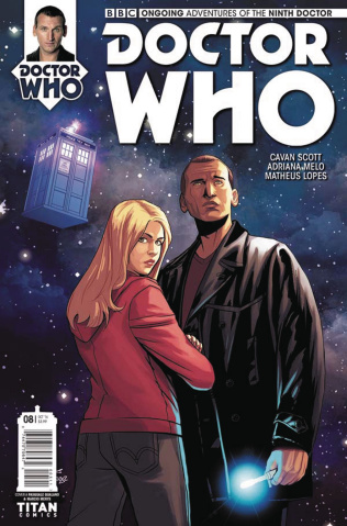 Doctor Who: New Adventures with the Ninth Doctor #8 (Qualano Cover)