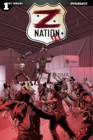 Z Nation #1 (Retailer Cover)