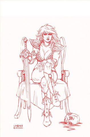 Red Sonja #24 (30 Copy Linsner Tint Virgin Cover)