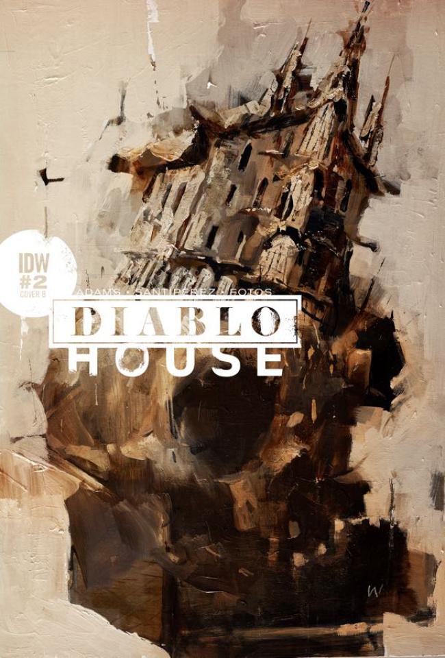 Diablo House #2 (Wood Cover)