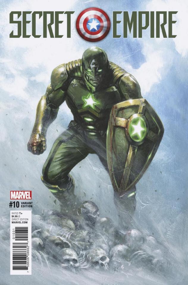 Secret Empire #10 (Dell'otto Civil Warrior Cover)