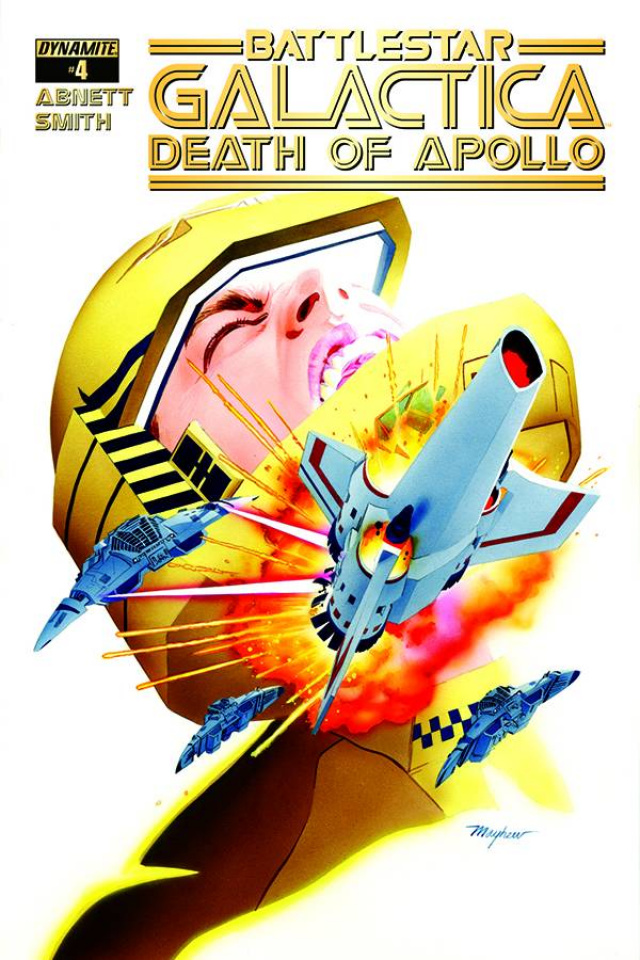 Battlestar Galactica: Death of Apollo #4 (Mayhew Cover)