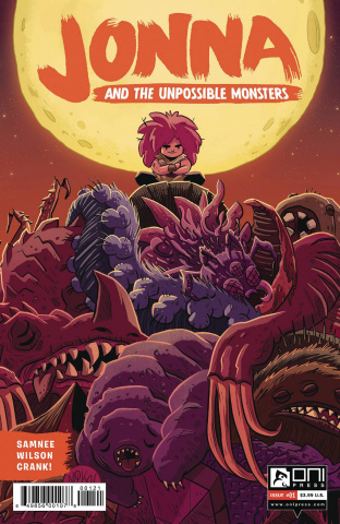 Jonna and the Unpossible Monsters #1 (Maihack Cover)
