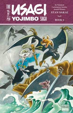 The Usagi Yojimbo Saga Vol. 3