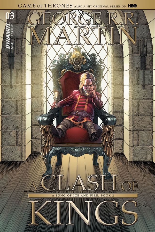 A Game of Thrones: A Clash of Kings #3 (Miller Cover)