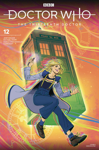 Doctor Who: The Thirteenth Doctor #12 (Fish Cover)