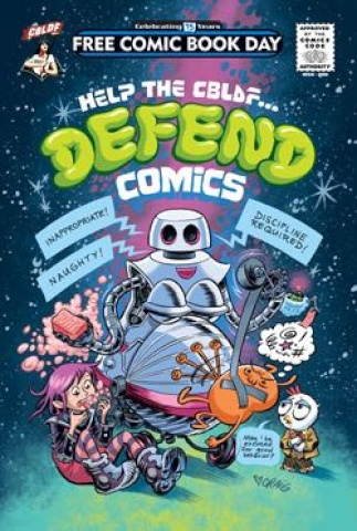 Help the CBLDF... Defend Comics (FCBD 2016 Edition)