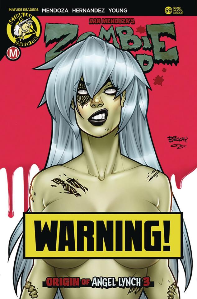 Zombie Tramp #59 (McKay Risque Cover)