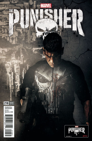 The Punisher #218 (TV Cover)