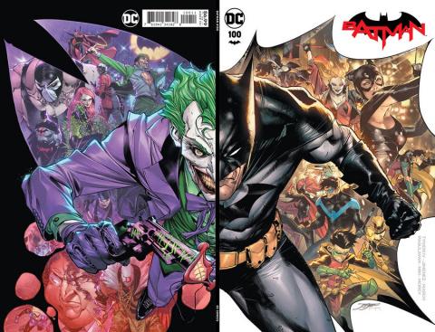 Batman #100 (Jorge Jimenez Wraparound Cover)