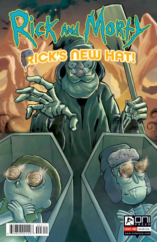Rick and Morty: Rick's New Hat! #3 (Stresing Cover)