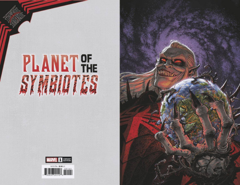 King in Black: Planet of the Symbiotes #1 (Moore Virgin Cover)
