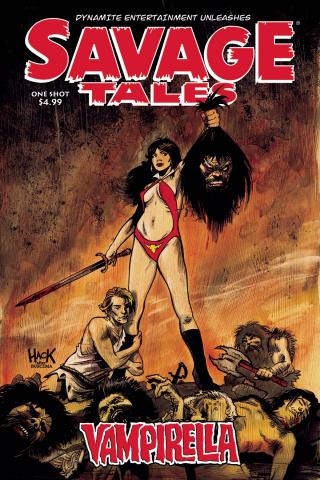 Savage Tales: Vampirella #1