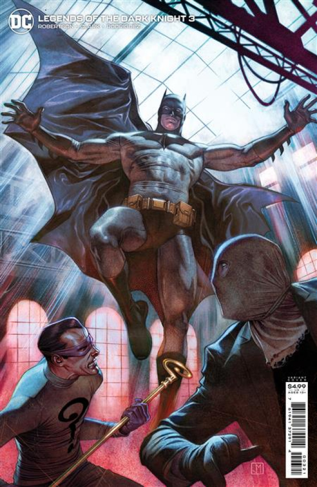 Legends of the Dark Knight #3 (Jorge Molina Card Stock Cover)