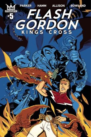 Flash Gordon: Kings Cross #5 (Parker Cover)