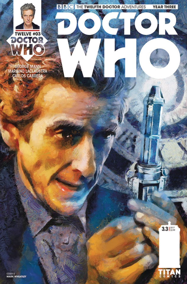 Doctor Who: New Adventures with the Twelfth Doctor, Year Three #3 (Wheatley Cover)