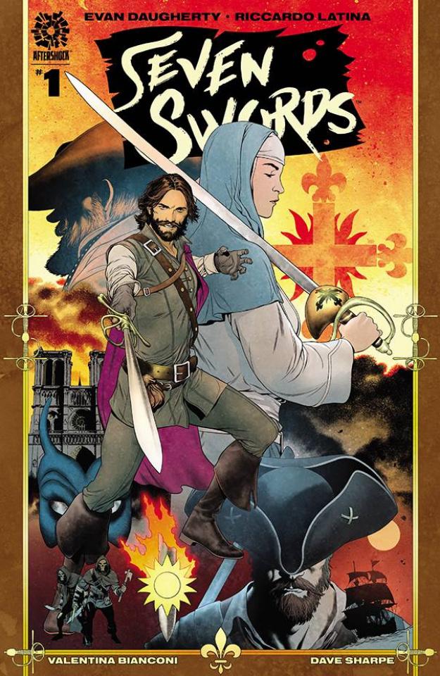 Seven Swords #1 (Clarke Cover)