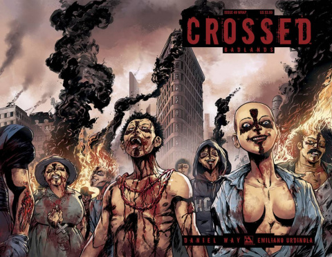 Crossed: Badlands #49 (Wrap Cover)
