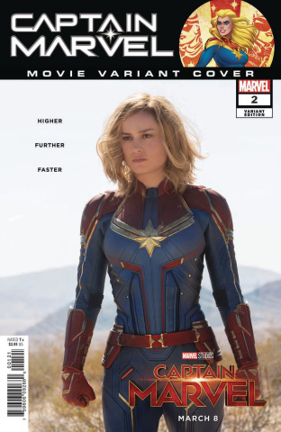 Captain Marvel #2 (Movie Cover)