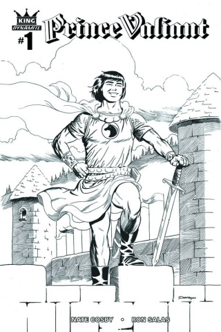Prince Valiant #1 (10 Copy Cooke B&W Cover)