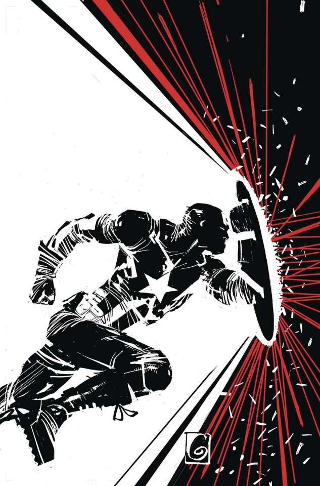 Captain America #2 (Garney Cover)