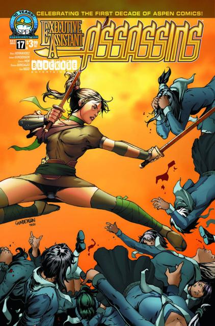 Executive Assistant: Assassins #17 (Gunderson Cover)