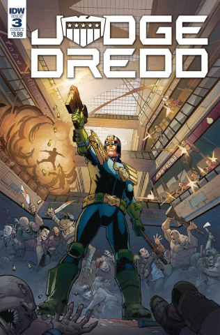 Judge Dredd: Under Siege #3 (Dunbar Cover)