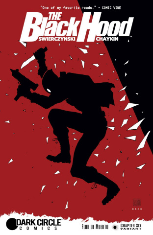 The Black Hood #6 (Mack Cover)