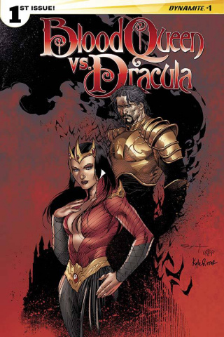Blood Queen vs. Dracula #1 (Syaf Cover)