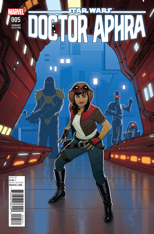 Star Wars: Doctor Aphra #5 (Quinones Cover)