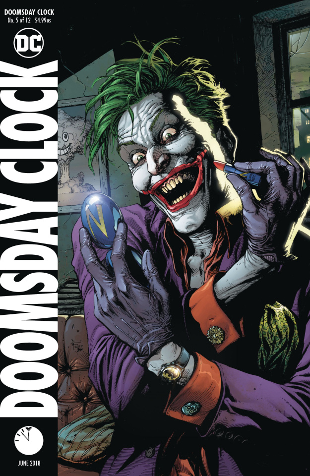 Doomsday Clock #5 (Variant Cover)