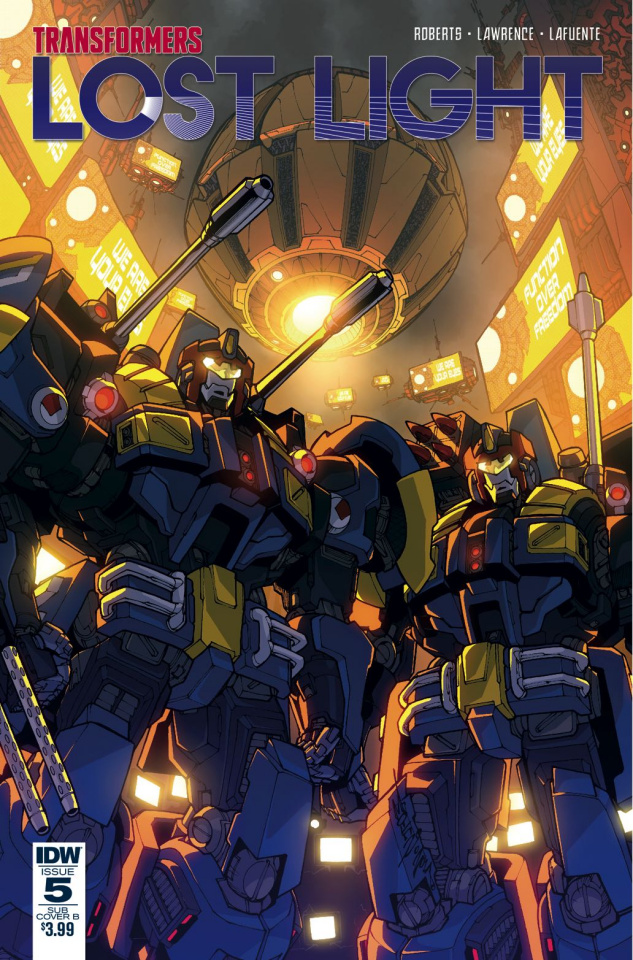The Transformers: Lost Light #5 (Subscription Cover)